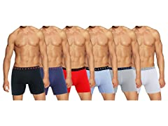 Men's 6PK Stretch Tech Boxer Briefs