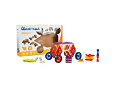 Magneticals Tile Set for Kids (46-Piece Set)