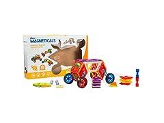 Magneticals Tile Set for Kids (46-Piece Set)
