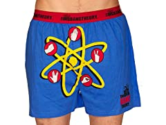 Big Bang Theory Atom Logo Boxers