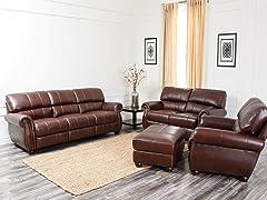 Roosevelt Leather 4-Pc Set
