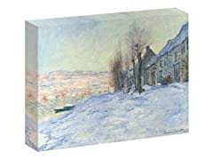 Monet Lavacourt, under Snow, ca. 1878-1881 (2 Sizes)