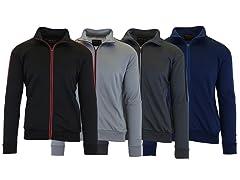 2PK ASST Mens MW Track Sweatshirt