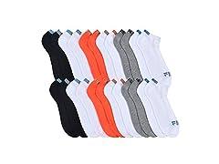 FILA  Men's Cushioned Athletic Socks 12-Pack