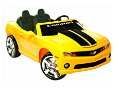 Yellow Racing Camaro