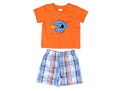 Cutie Pie Baby Fish 2-Pc Short Set