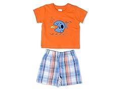 Cutie Pie Baby Fish 2-Pc Short Set