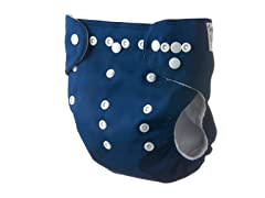 Adjustable Cloth Diaper - Navy