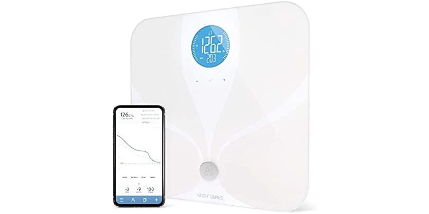 WiFi Smart Connected Body Fat Bathroom Scale by GreaterGoods | WOOT