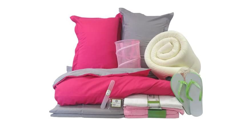 college here i come Features create a stylish space for lounging, studying and sleeping with the college, here i come package everything you need to make your dorm room comfy and cozy.