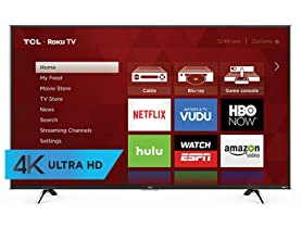 "TCL 50"" 4K UHD Roku Smart LED TV"