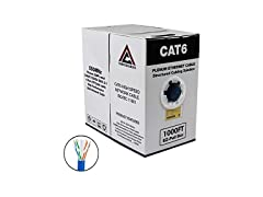 CAT6 Plenum Solid Network Cable