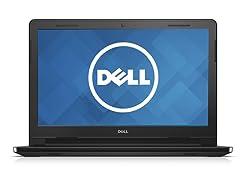 "Dell Inspiron 14"" Laptop (Intel Celeron, 2GB, 500GB, Black)"