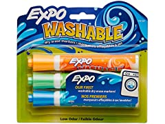 EXPO Washable Dry Erase Markers, Bullet Tip