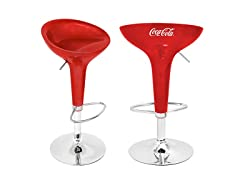 Coca-Cola® Scooper Stool