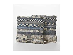Wool and Denim Pillows