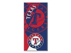 Texas Rangers Oversized Beach Towel
