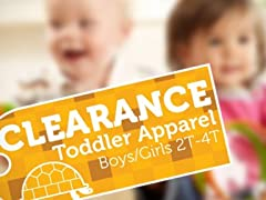 Apparel Clearance Toddlers (2T-4T)
