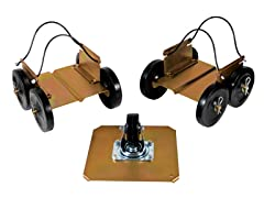 Drivable Big Wheel Snowmobile Dollies