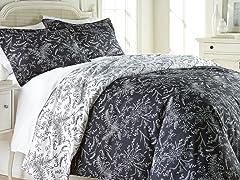 Southshore Fine Linens Reversible Comforter Sets