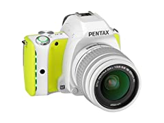 Pentax K-S1 Body and Lens Kit w/16GB FLU SD Card