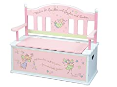 Fairy Wishes Bench Seat with Storage