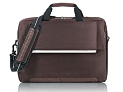 "17.3"" Urban Polyester Briefcase - Chestnut"