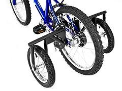 BIKE USA Jr. Stabilizer Wheel Kit