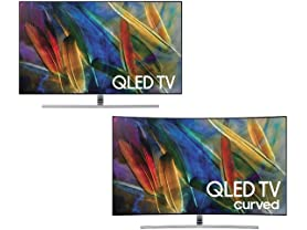 Samsung 4K Smart QLED TVs - Your Choice