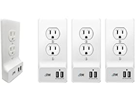 iPM Smart Home USB Wall Plate (4-Pack)