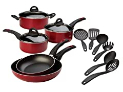 Italian Gourmet 14-Piece Cookware Set