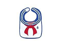 Spill-Sailor Bib Set