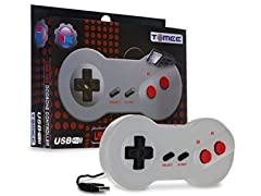 Tomee NES USB Dogbone Controller for PC/Mac