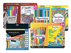 Adult Coloring Book Kits - Your Choice