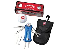 Victorinox Swiss Army Golf Tool with Balls