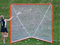Folding 6 ft x6 ft Steel Lacrosse Goal