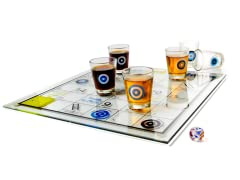 Shoots & Ladders Shot Glass Game