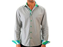 Lucky Luciano Boss Slim Fit Casual Shirt