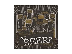 Got Beer? Coasters- Set of 4