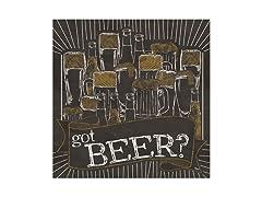 Got Beer? Coasters- Set of 4