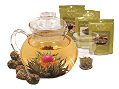 Flowering Tea Set