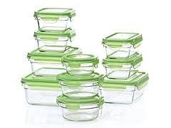 Glasslock 20-Piece Glass Storage Set