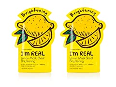 I'm Real Lemon Mask Sheet - Twin Pack