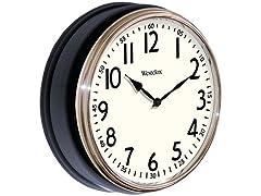 "Westclox 12"" Round Wall Clock"