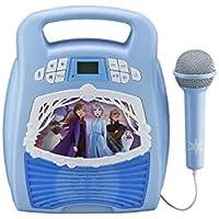 Frozen 2 Bluetooth Portable MP3 Karaoke Machine Player Deals