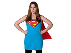 Supergirl Sleep Tank with Cape