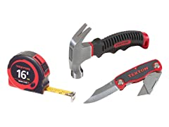 Tekton Home Project Tool Set, 3-Piece