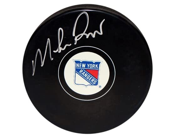 Mike Richter Rangers Signed Puck WT67677A