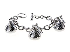 SS Triple Hershey Kiss Bracelet