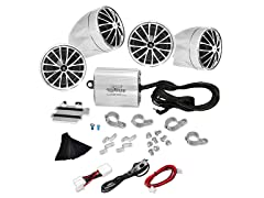 800W Motorcycle Weatherproof Speaker Syst